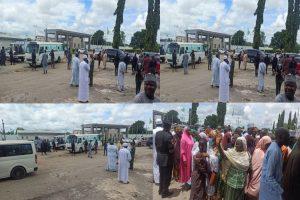 Latest news in Nigeria is that Updated: Freed Tegina School children arrive Niger Govt house