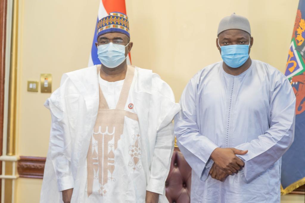 Gambian President, Adama Barrow, commends Nigeria's drug war campaign