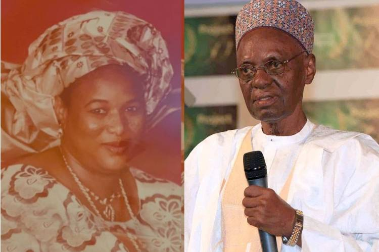 ;Latest news is that Governor Tambuwal mourns President Shagari's wife