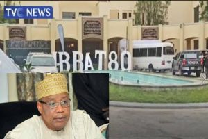 Latest news is that Heavy security as dignitaries arrive IBB's residence