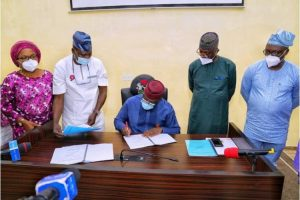Latest news is that Governor Fayemi signs six bills into law