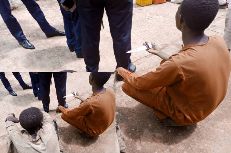 Latest news is that Man paraded for attempting to kill NSCDC personnel in Sokoto