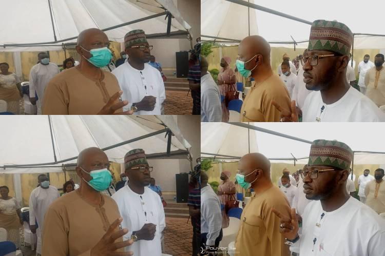 Latest news is that Mimiko, Yinusa, bid Mohammed Fawehinmi farewell