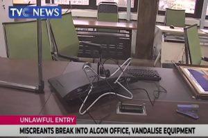 Latest news is that Miscreants break into ALGON office, vandalise equipment in Abuja