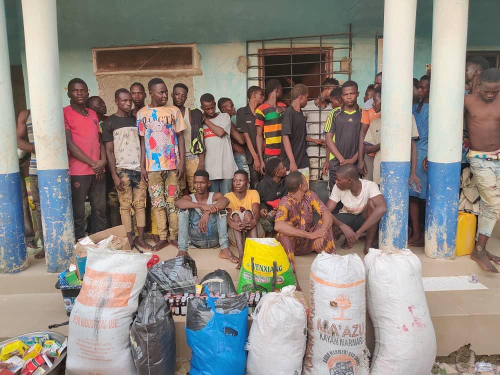Latest news in Nigeria is that NDLEA arrests 43 drug dealers in fresh raids in Ondo, Nasarawa, Benue