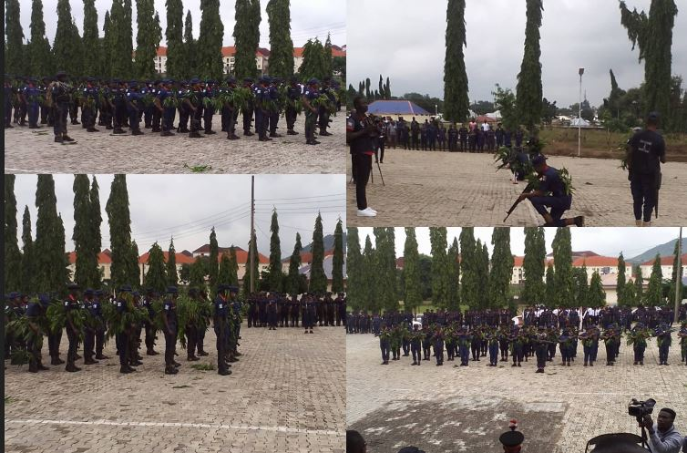 Latest news in Nigeria is that NSCDC Parade combat