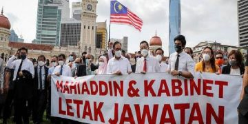 Malaysia lawmakers protest, demand resignation of PM Muhyiddin Yassin