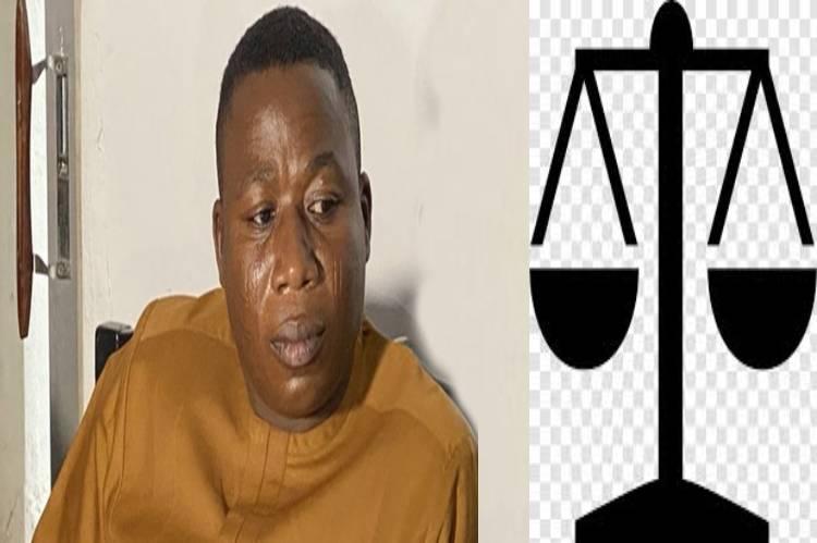 Latest Breaking News about Sunday Igboho : Court restrains DSS, AGF from arresting Sunday Igboho