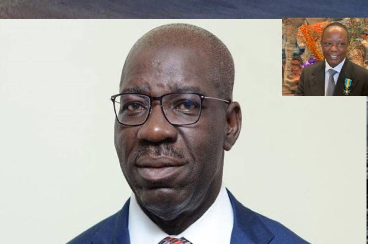 Obaseki mourns Okunbor, describes him as a worthy Son of Edo and Nigeria