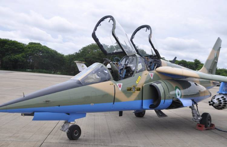 Latest Breaking News about NAF : NAF destroys bandits camp, kill78 in aerial bombardment