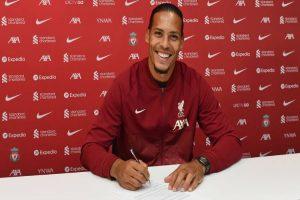 Latest Breaking News about Virgil Van Dijk: Van Dijk signs new 4 yeard deal with Liverpool