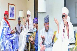Gov Bello pays condolence visit to Sheikh Bauchi over Jos Killing
