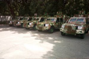 Latest Breaking News about Security in Nigeria: Kebbi fabricates Armoured Personnel Carriers to fight banditry