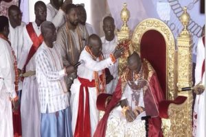 Olu of Warri sues for peace, blesses Nigeria, reverses curse placed on land by his forefathers