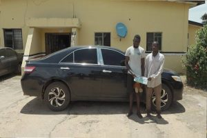 Latest Breaking News about Kwara State: NSCDC arrests car thief in Kwara State