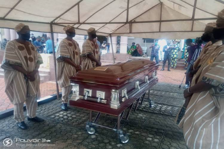 Latest Breaking News about Mohammed Fawehinmi: Burial Programme of Mohammed Fawehinmi begins in Ondo
