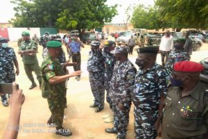 Latest Breaking News about Nigerian Army: GOC 8 Division meets Zamfara CP