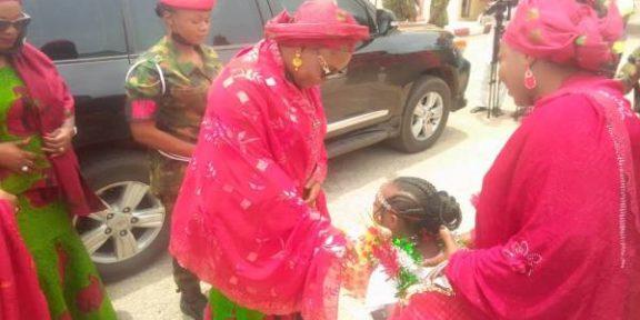 Latest Breaking News about NAOWA: NAOWA President, Salamatu Yahaya, arrives Gusau