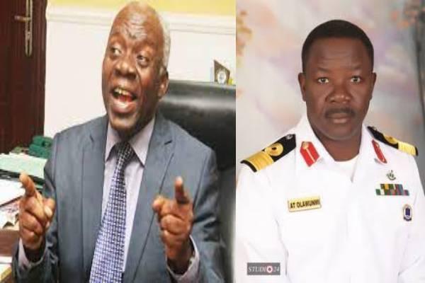 Latest Breaking News about Commodore Kunle Olawunmi: Olawunmi had friendly chat at DIA - Femi Falana