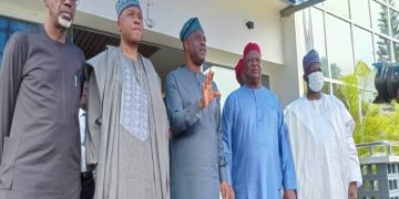 PDP National reconciliation committee pays courtesy visit to Gov Makinde