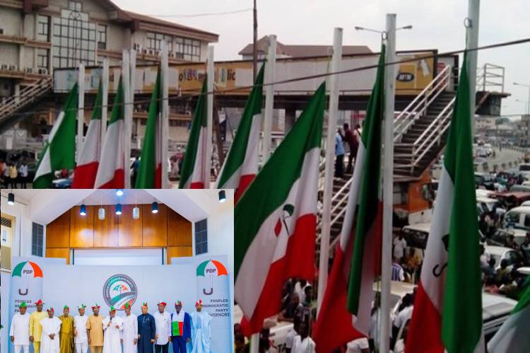 Latest news is that PDP to hold National Convention October 30