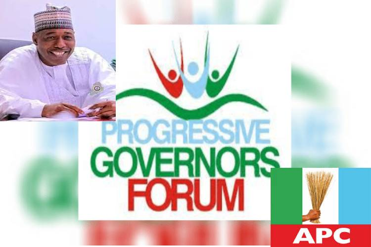 Latest news today is that Progressive Governors greet Governor Zulum at 52
