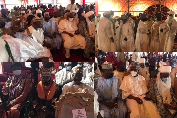 Photos: President Buhari's son, daughter of Emir of Bichi's wedding ceremony