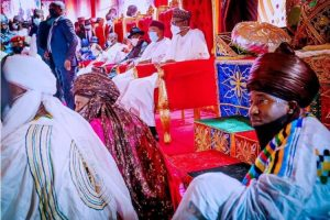 Photos: Solemnisation of marriage contract between Yusuf and Zahra