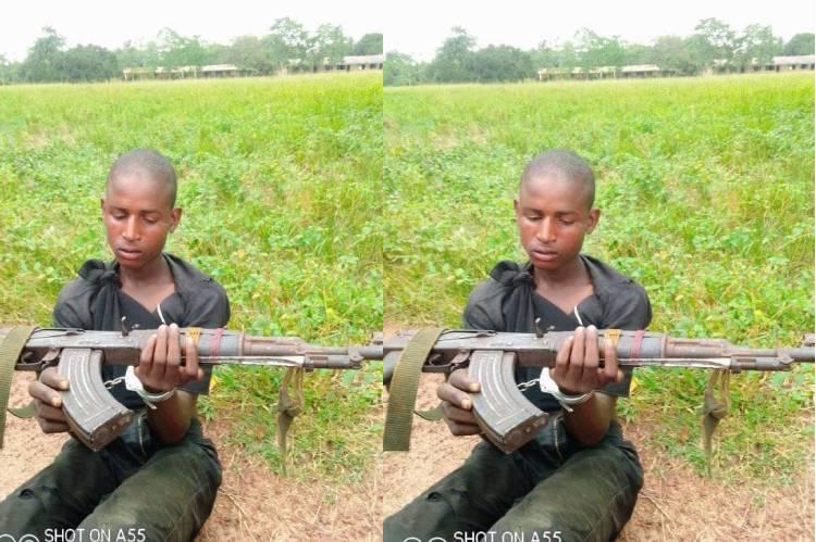 Latest news in Nigeria is that Police arrest AK 47 bearing herdsman in Ogun