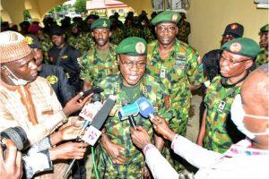 Chief of Army Staff, Lieutenant General Faruk Yahaya