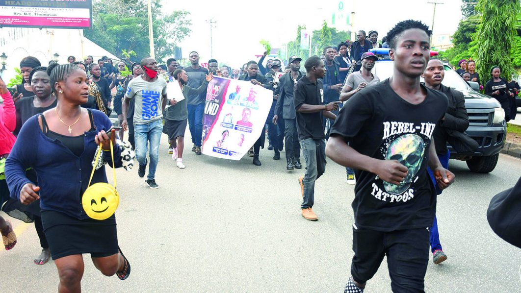 Latest news in Nigeria is that Video: Yelwa Zangan youths Protest killings in Plateau