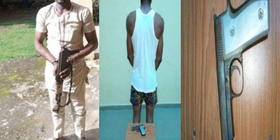 Police arrest suspected robber, cultist in Delta, recover AK-47 gun