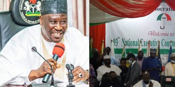 Latest news in Nigeria is that National Convention: Our committee has resolved all PDP crises - Gov Fintiri
