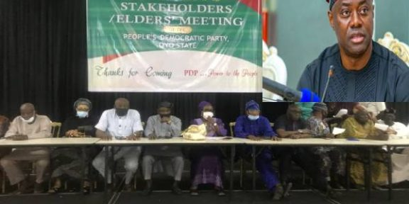 Oyo aggrieved PDP members pass vote of no confidence on Gov Makinde