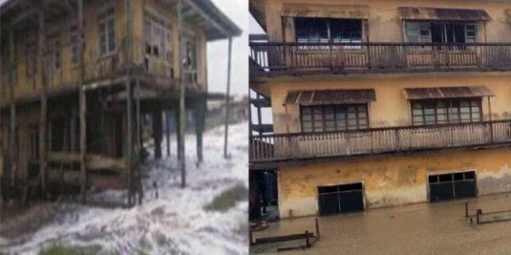 Ayetoro residents lament as sea incursion ravages community