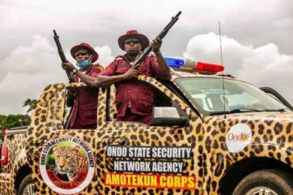 Breaking: Amotekun rescues 9 out of 12' kidnaped passengers in Ondo