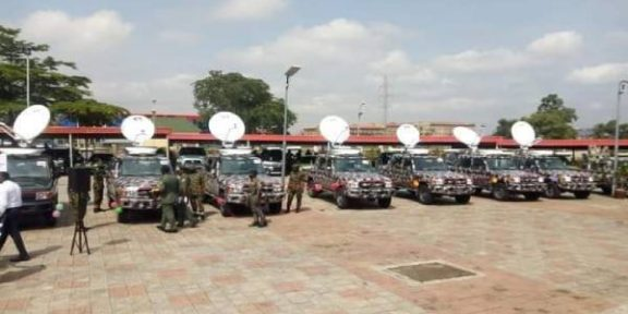 Latest news in Nigeria is that COAS inaugurates set of Satellite Communication Vehicles