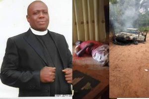 Just In: Gunmen kill Anglican Priest, Emeka Merenu in Imo