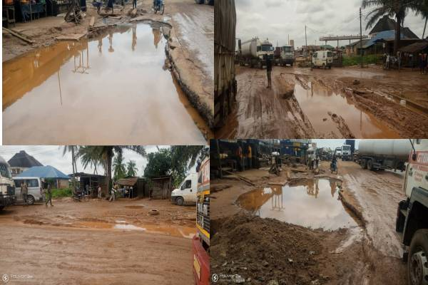 Motorists groan over deplorable condition of Akure/Owo road