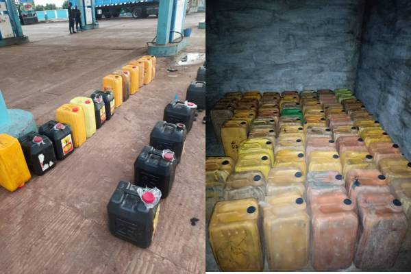 NSCDC shuts down two filling stations, arrests two suspects for Smuggling