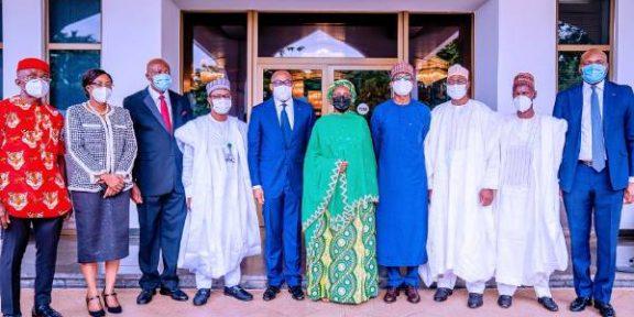 Latest Breaking News about Muhammadu Buhari: President Buhari Inaugurates board of NSIA