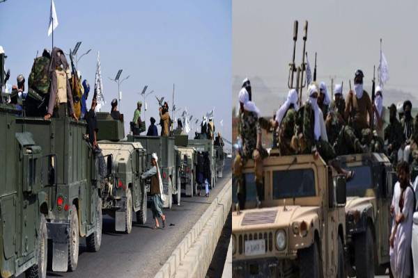 Taliban show off captured US militar