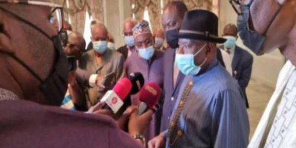 Fmr President Goodluck Jonathan in Mali to follow up progress on transition to democracy