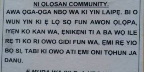 Robbers notify Ogun community of impending invasion