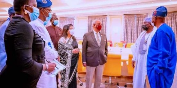 Latest Breaking News about the Health Sector in Nigeria: President Muhammadu Buhari seeks Rotary Club's support for Vaccination Drive