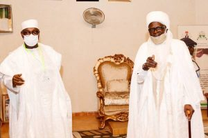 Latest Breaking News on Niger State : Governor Sanni Bello congratulates former Governor and Emir of Suleja at 80