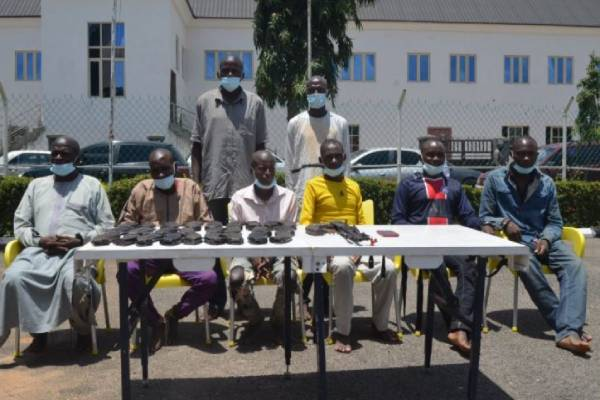 IRT operatives arrest eight notorious suspected kidnappers