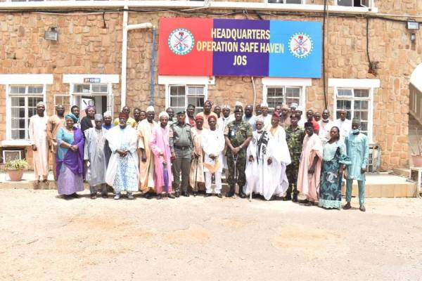 STF Commander inaugurates Peace Committee in Plateau state