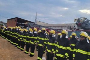 LASG trains, equips 100 newly recruited fire fighters