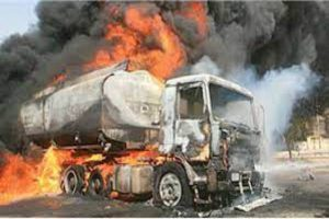 Latest Breaking News About Adamawa State: Yola Tanker Explosion destroys properties, causes gridlock